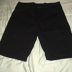 Men's Dickies Black Denim Shorts sz 36